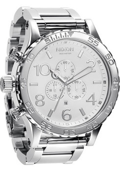 51-30 High Polish White Chrono