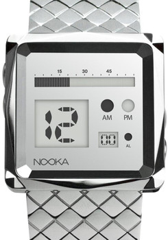 Nooka ZEM ZOO Mirror Steel