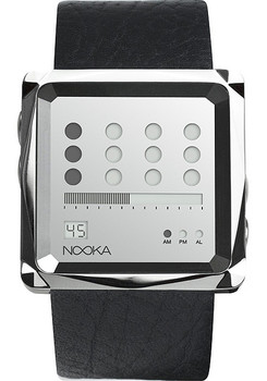 Nooka ZEM ZOT Mirror Leather