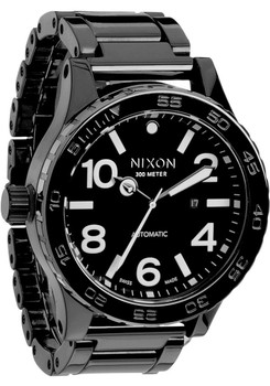 Nixon 51-30 Elite Black Ceramic Swiss Automatic