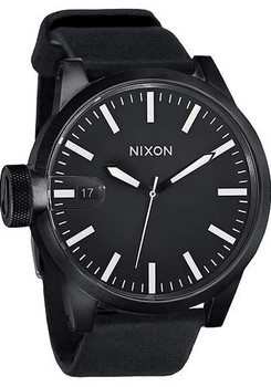 Nixon Chronicle All Black Oversize