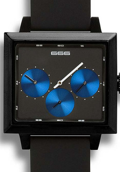 Satellite Dual Time Automatic -Blue