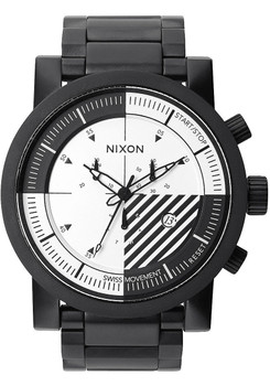 Nixon Magnacon Nixon SS Black/White Ltd. Edition