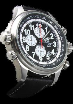 Aeromatic 131A Black Pilot's Chronograph