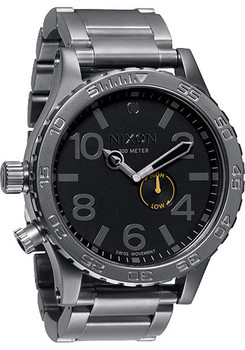 Nixon 51-30 All Gunmetal/Black -Nixon