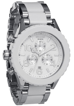 42-20 Chrono Silver/White Acetate