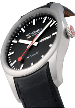 Mondaine Retro Automatic -Black