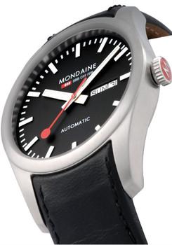 Mondaine Retro Automatic -Black