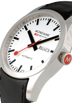 Mondaine Retro Automatic -White