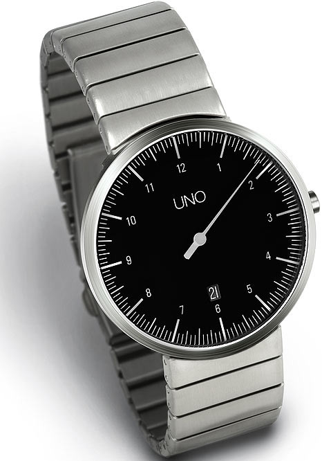 Botta UNO Date Black -Steel