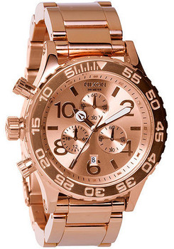 Nixon 42-20 Chrono All Rose Gold