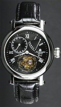 Aeromatic Tourbillon Black/Steel