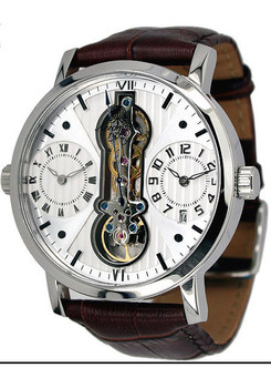 Aeromatic 1363A Dual Time Automatic Skeleton