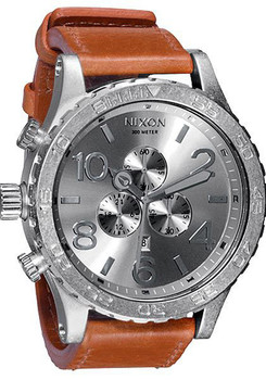 Nixon 51-30 Chrono Leather Saddle