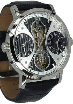 Aeromatic 1364A Dual Time Automatic Skeleton