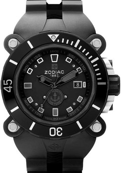 Zodiac All Black Diver