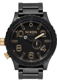 Nixon 51-30 Matte Black/Gold