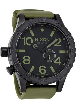 Nixon 51-30 PU Matte Black/Surplus