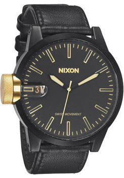 Nixon Chronicle Matte Black/Gold