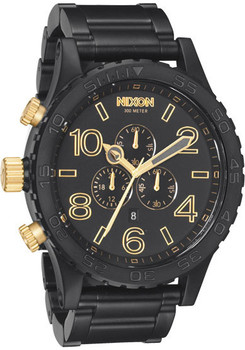 51-30 Matte Black/Gold Chrono