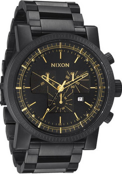 Nixon Magnacon SS Matte Black/Gold