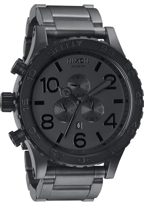 Nixon 51-30 Chrono Matte Black/Matte Gunmetal