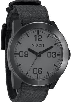 Nixon Corporal Matte Black/Matte Gunmetal