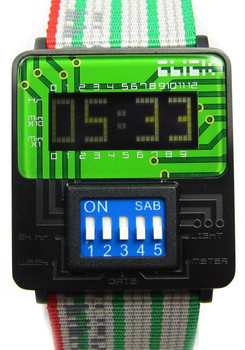 Click DIP-Switch Black/Green Ribbon