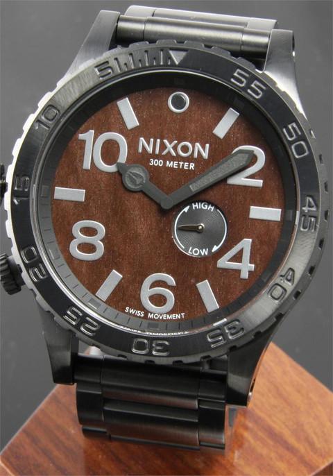 Nixon 51-30 Dark Wood/Black