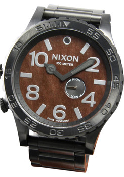 Nixon 51-30 Dark Wood/Black