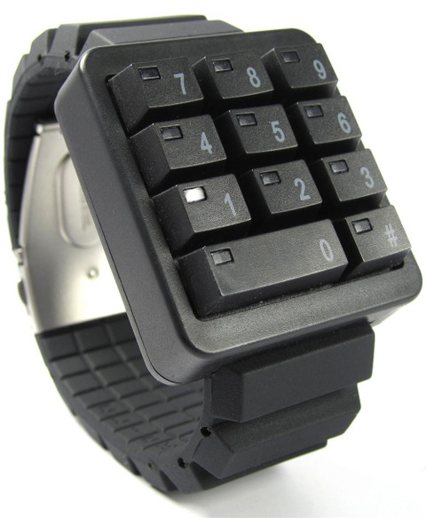 Click Black Keypad Hidden Time