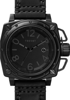 TSOVET AX87 Leather All Black