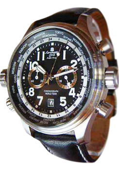 Aeromatic World Tour Pilot Defender Chronograph