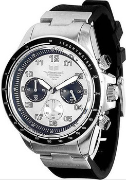 Vestal ZR2CS01 ZR2 Rubber Steel Chronograph