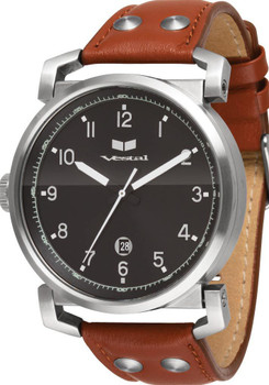 Vestal OB3L003 Observer Brown Leather