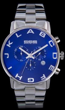 Alphabet Chrono SS Blue