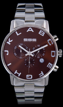 Alphabet Chrono SS Brown