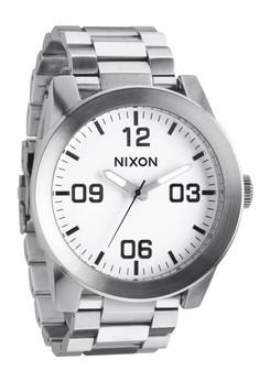 Nixon Corporal SS White