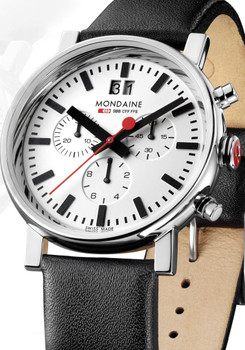 Mondaine EVO Big Date Chrono White