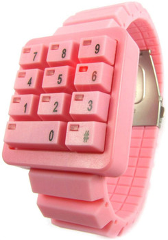 Click Keypad Hidden Time Pink