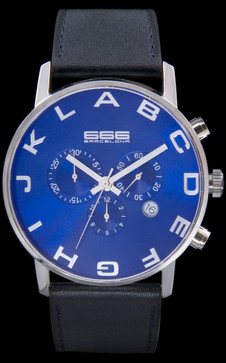 Alphabet Chrono Blue/Black