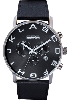 Alphabet Chrono Black/Black
