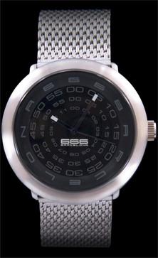 Concentric Mesh Black/Grey