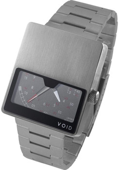 Void VO2 Retrograde Brushed Steel