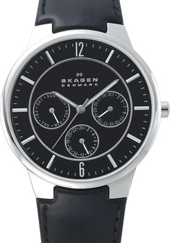 Skagen 331XLSLB Multi-function Steel Black