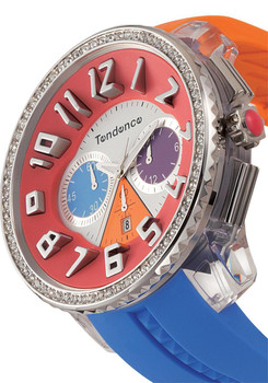 Tendence Crazy Stones Orange/Blue