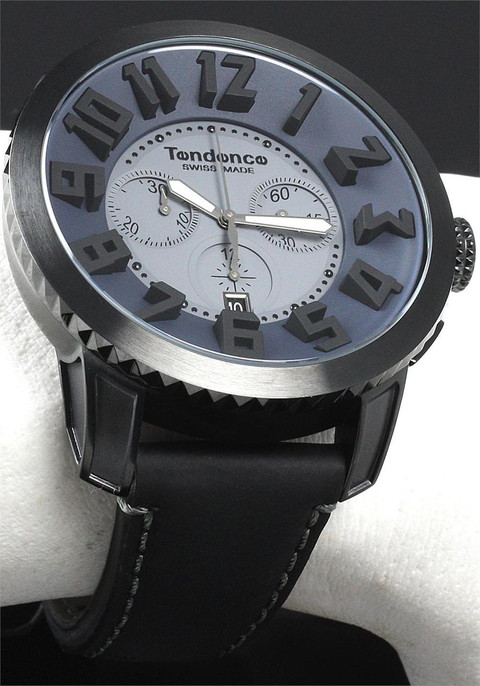 Tendence Swiss Chrono Black