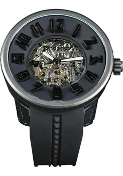 Tendence Black Skeleton Automatic