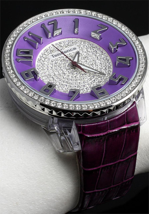 Tendence GLAM 3H Purple/Leather