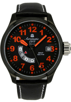Aeromatic 324A GMT Military Worldtime